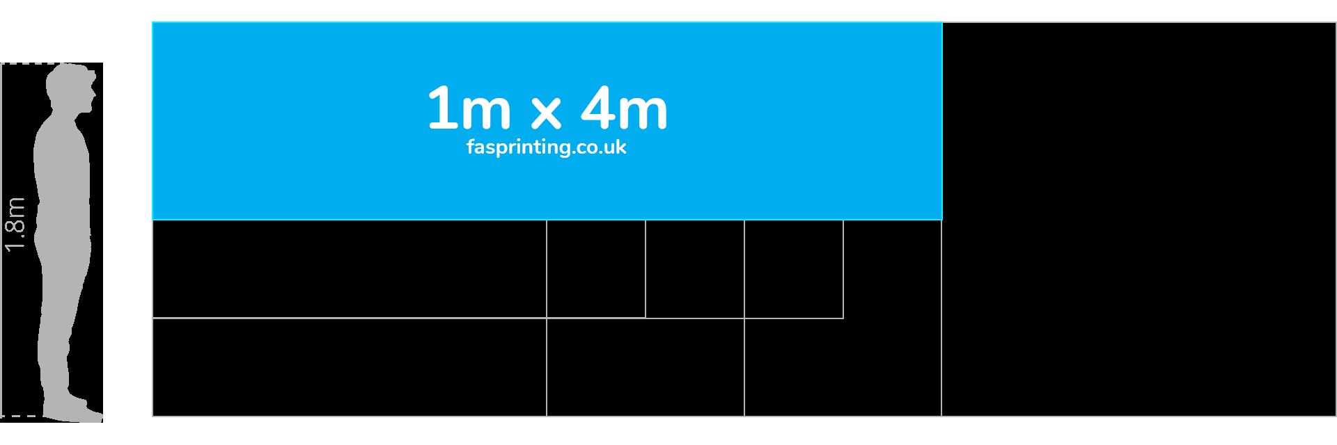 1m x 4m Banner