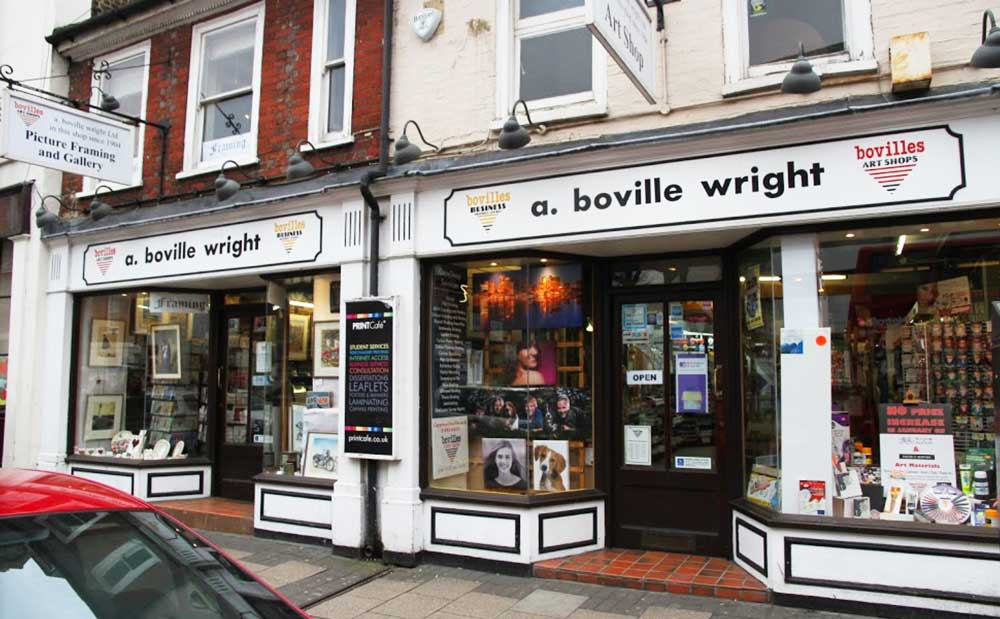 Boville Wright & Print Cafe Uxbridge Close